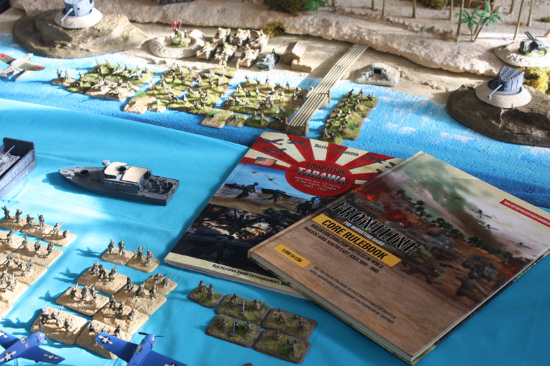 Basisregelwerk Pazifik und Tarawa